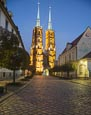 Cathedral Of St. John The Baptist On Plac Katedralny Cathedral Platz On Cathedral Island Ostrów Tums