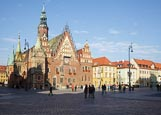 Thumbnail image of Market Square with Old Town Hall - Rynek we Wrocławiu, Wroclaw, Poland