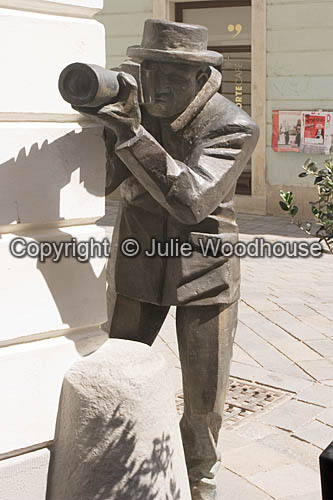 photo showing Paparazzi Statue, Bratislava