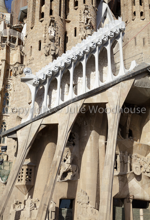 photo showing Sagrada Familia, Barcelona, Catalonia, Spain