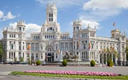 Cybele Palace / Palacio De Cibeles On Plaza De Cibeles, Madrid, Spain