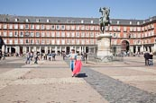 Thumbnail image of Plaza Mayor with Toreador, Madrid, Spain