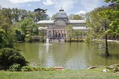 Thumbnail image of Crystal Palace in Buen Retiro Park, Madrid, Spain