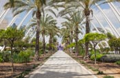 The City Of Arts And Sciences, Umbracle, Valencia, Spain
