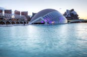 Thumbnail image of The City of Arts and Sciences, The Hemisferic, Valencia, Spain